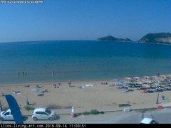 view from Agios Georgios NW Corfu Greece on 2019-09-16