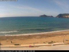 view from Agios Georgios NW Corfu Greece on 2020-02-13