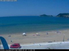 view from Agios Georgios NW Corfu Greece on 2020-07-07