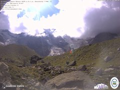 view from Rifugio Zamboni on 2019-09-02