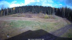 view from Nordic Centre Lodge on 2020-10-14