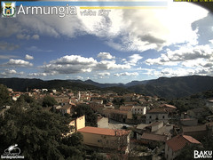 view from Armungia on 2019-11-02
