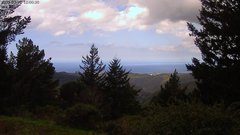 view from Kings Mountain on 2020-03-20