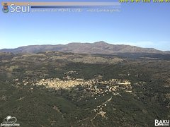 view from Monte Lusei Seui on 2019-10-04
