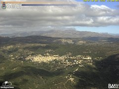 view from Monte Lusei Seui on 2019-10-06