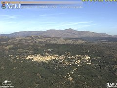 view from Monte Lusei Seui on 2019-10-12