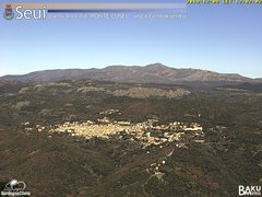 view from Monte Lusei Seui on 2019-12-08