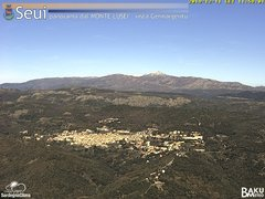 view from Monte Lusei Seui on 2019-12-11