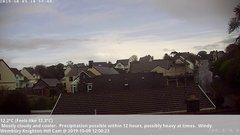 view from Wembury, Devon. Knighton Hill Cam on 2019-10-09
