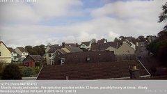 view from Wembury, Devon. Knighton Hill Cam on 2019-10-16