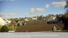 view from Wembury, Devon. Knighton Hill Cam on 2019-11-18