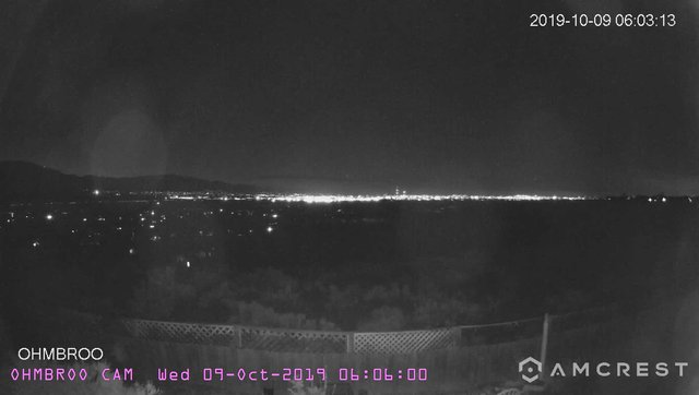 time-lapse frame, AIBF-2019-10-09 webcam
