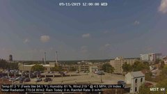 view from University Place Apartments - West Weather on 2019-09-11