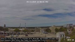 view from University Place Apartments - West Weather on 2019-09-13