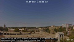 view from University Place Apartments - West Weather on 2019-09-14
