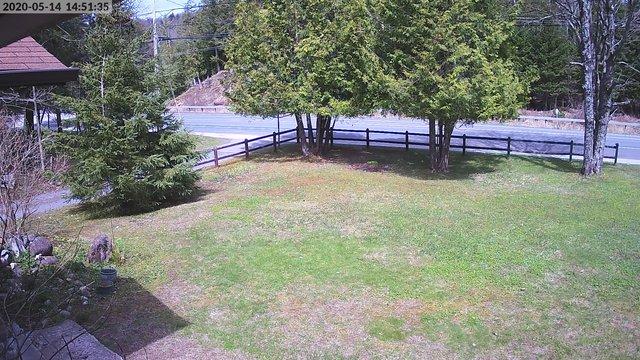 time-lapse frame, InletSnow.com webcam