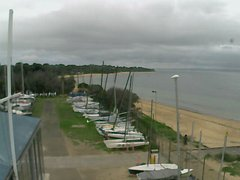 view from Cowes Yacht Club - West on 2020-02-11