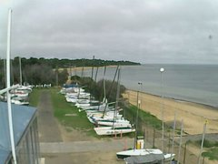 view from Cowes Yacht Club - West on 2020-02-12
