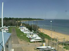 view from Cowes Yacht Club - West on 2020-02-22