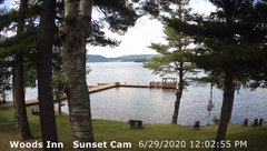 view from 4th Lake, Inlet, NY on 2020-06-29
