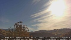 view from Horseshoe Bend, Idaho CAM2 on 2019-11-11