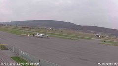 view from Mifflin County Airport (west) on 2019-11-11