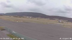 view from Mifflin County Airport (west) on 2020-02-20