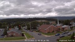view from Highland Park Hose Co. #1 on 2019-09-13