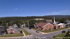 view from Highland Park Hose Co. #1 on 2019-09-17