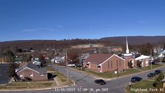 view from Highland Park Hose Co. #1 on 2019-11-16