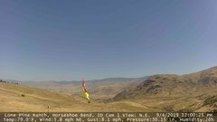 view from Horseshoe Bend, Idaho CAM1 on 2019-09-04