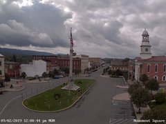 view from 13 East Market Street - Lewistown PA (west) on 2019-09-02