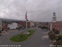 view from 13 East Market Street - Lewistown PA (west) on 2019-10-06