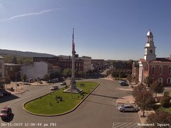 view from 13 East Market Street - Lewistown PA (west) on 2019-10-11