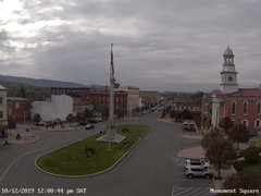view from 13 East Market Street - Lewistown PA (west) on 2019-10-12