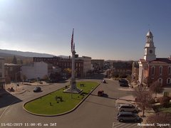 view from 13 East Market Street - Lewistown PA (west) on 2019-11-02
