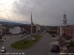 view from 13 East Market Street - Lewistown PA (west) on 2019-11-14