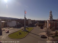 view from 13 East Market Street - Lewistown PA (west) on 2019-11-16