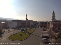 view from 13 East Market Street - Lewistown PA (west) on 2019-11-19