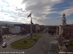 view from 13 East Market Street - Lewistown PA (west) on 2019-11-24