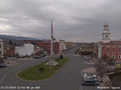 view from 13 East Market Street - Lewistown PA (west) on 2019-11-27