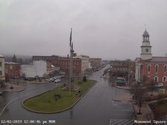 view from 13 East Market Street - Lewistown PA (west) on 2019-12-02