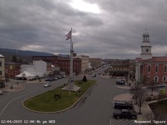 view from 13 East Market Street - Lewistown PA (west) on 2019-12-04