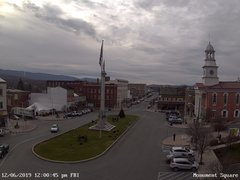 view from 13 East Market Street - Lewistown PA (west) on 2019-12-06