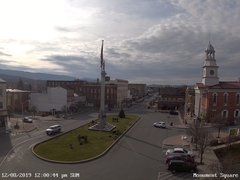 view from 13 East Market Street - Lewistown PA (west) on 2019-12-08