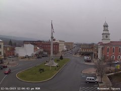 view from 13 East Market Street - Lewistown PA (west) on 2019-12-16