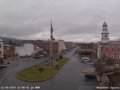 view from 13 East Market Street - Lewistown PA (west) on 2019-12-30