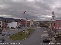 view from 13 East Market Street - Lewistown PA (west) on 2020-01-05