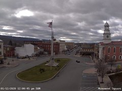 view from 13 East Market Street - Lewistown PA (west) on 2020-01-12
