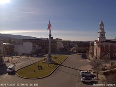 view from 13 East Market Street - Lewistown PA (west) on 2020-01-17